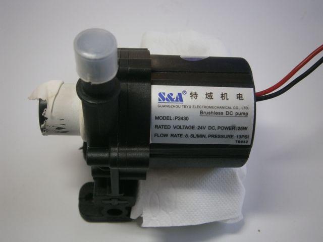 Peças e Acessórios: Chiller de Resfriamento: Bomba de Agua do chiller cw 5000