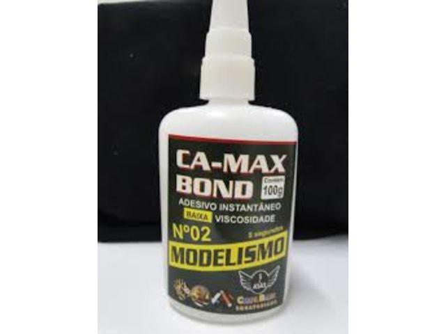 Construção:  COLA CA   E  ACELERADOR PARA: . Cola C.a. N2 100 g Max Bond Adesivo