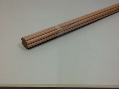Produtos em Destaque:  Vareta Redonda de Cedro Rosa 10 mm x 930 mm PCT C/ 10